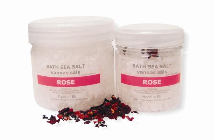 Bath Sea Salt ROSE
