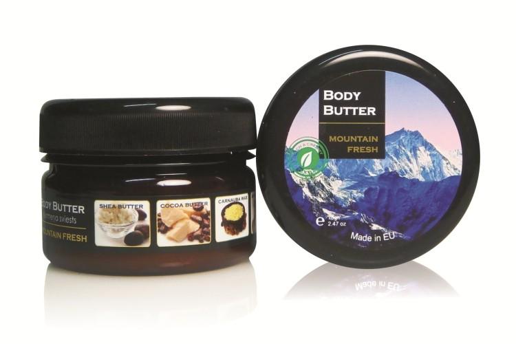 Body Butter MOUNTAIN FRESH, 70gr.
