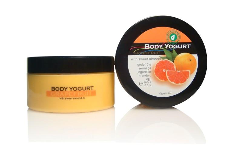Ķermeņa jogurts 'GRAPEFRUIT', 200ml
